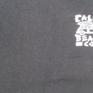 Vintage 1980s Black California Beach Company Cotton T-Shirt