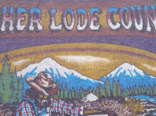 Vintage 1980s Levis San Francisco Mother Lode Plum T Shirt L