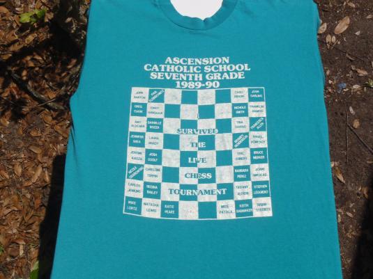 Vintage 1989 Ascension Catholic SchoolT Shirt L