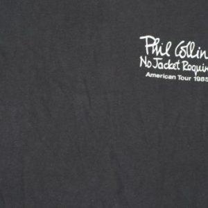 Vintage 1985 Phil Collins Concert Tour Sleeveless T Shirt XL