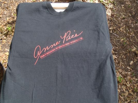 Vintage 1996 Anne Rice Romantic Booklovers T Shirt L