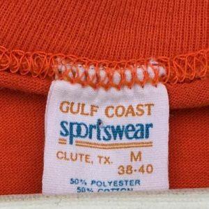 Vintage 1980s Massillon Tigers Football Orange T-Shirt S/M