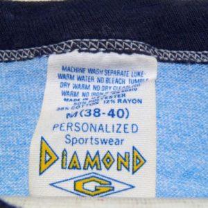 Vintage 1980s University of Kentucky Rayon Ringer T Shirt M