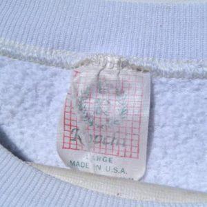 Vintage 1980s Mickey Mouse Disney Florida White Sweat Shirt