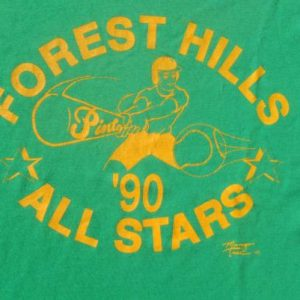 Vintage 1980s Green Forest Hills Pinto League Tampa FL T-Shirt L