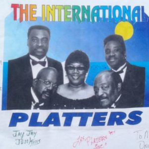 Vintage 1997 The Platters Autographed Tour White T Shirt L