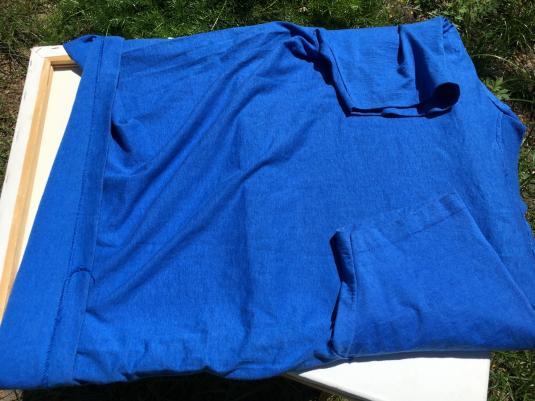 Vintage 1990s Temple Samu El-Or Olom Blue T-Shirt L