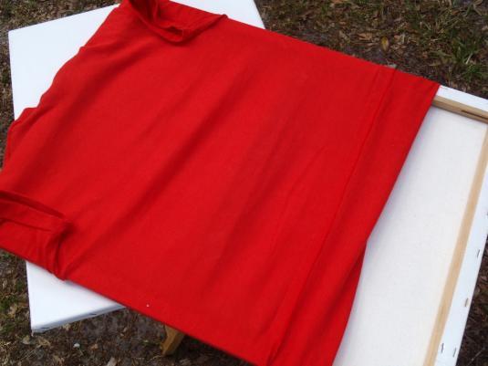 Vintage 1970s Red Suzuki GS1000 Motorcycle T Shirt S/M