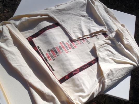 Vintage 1994 Indigo Girls West Concert Tour Beige T Shirt XL