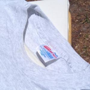 Vintage 1990s Heather Gray Christian Camp T-Shirt XL
