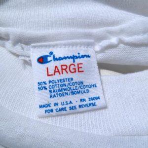 Vintage 1990s Valencia Community College White T Shirt L