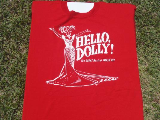 Vintage 1990s Hello Dolly Sarasota Players T-Shirt L/XL