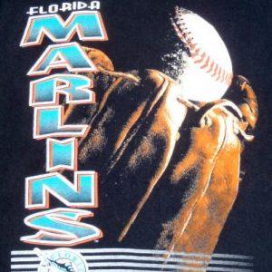 Vintage 1990s Florida Marlins Baseball MLB Cotton T-Shirt XL