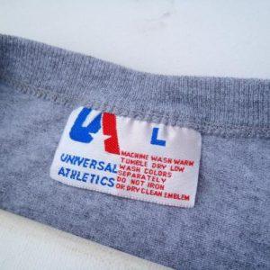 Vintage 1990s Pasadena Pride Football Gray Half T-Shirt L