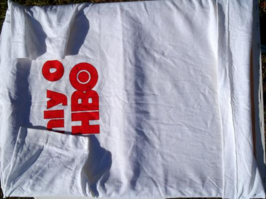 Vintage 1980s Babar Does Lunch HBO White T-Shirt XL
