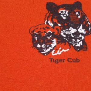 Vintage 1980s Tiger Cub Boy Scouts Ringer T-Shirt S