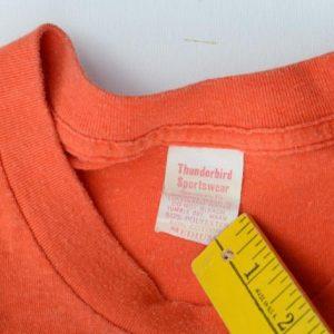 Vintage 1970s University of Texas Orange T ShirtS/M