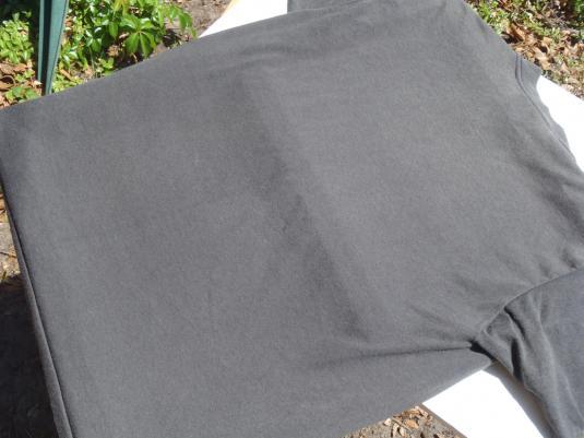 Vintage 1980s Black Bell Telephone Linemen T Shirt M/L