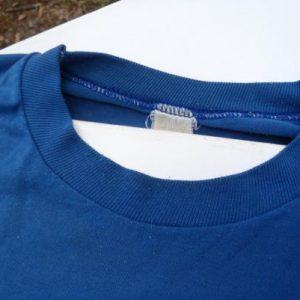 Vintage 1980s Blue University Maryland Piano Festival T-Shirt