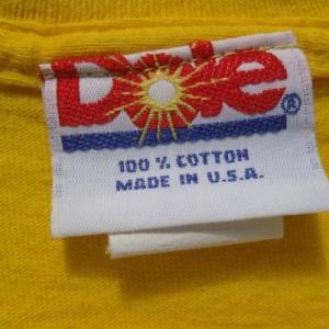 Vintage 1990s Dole Pineapple Yellow Cotton T Shirt L