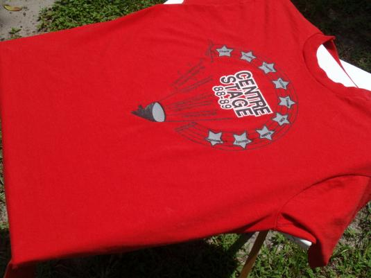 Vintage 1980s '88-89 Centre Stage Red T-Shirt XL