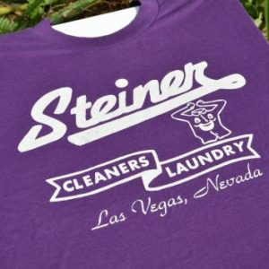 1990s Las Vegas Dry Cleaners Advertising Vintage T-Shirt