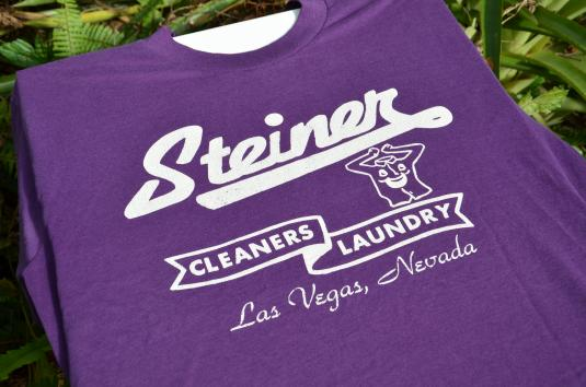 1990s Las Vegas Dry Cleaners Advertising Vintage T-Shirt