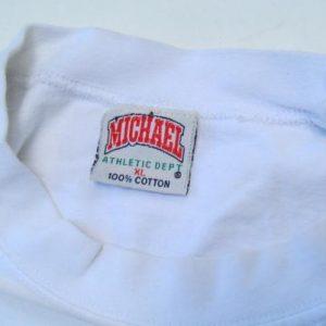 Vintage 1990s Charles Barkley Free Speech White T-Shirt L/XL