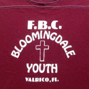Vintage 1980s FBC Bloomingdale Youth Florida T Shirt XL