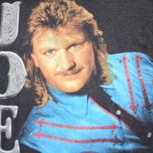 Vintage 1993 Joe Diffie Black Cotton Concert Tour T-Shirt L