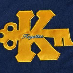 Vintage 1980s Keyette Service Club Jersey T-Shirt L