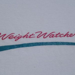 Vintage 1980s Weight Watchers T Shirt L