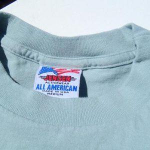 Vintage 1980s Lorelei Florida Keys Cotton Pocket T Shirt L