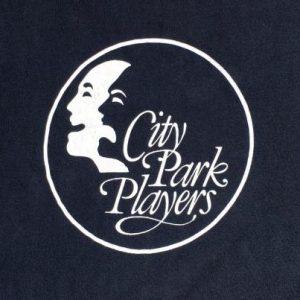 Vintage 1980s City Park Players Alexandria LA Black T-Shirt