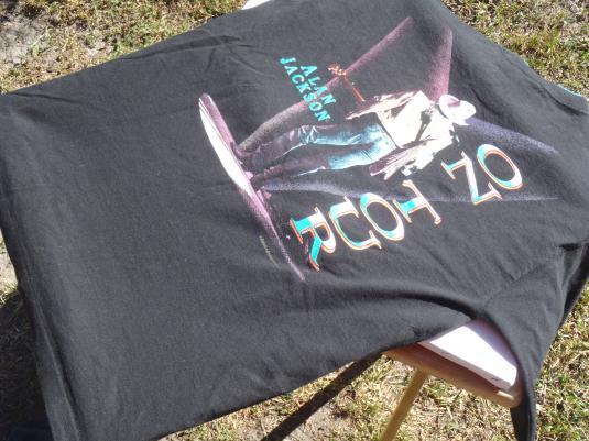 Vintage 1994 Alan Jackson Concert Tour Black T-Shirt L