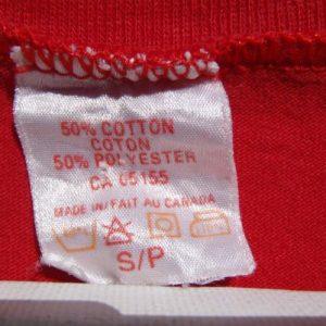 Vintage 1990s Cape Breton Canada Red T Shirt S