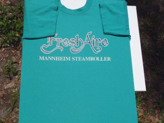 Vintage 1970/80s Mannheim Steamroller Fresh Aire T-Shirt M
