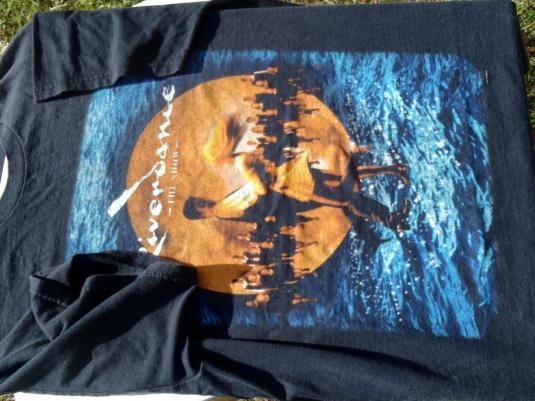 Vintage 1990s Riverdance the Musical Black T-Shirt L