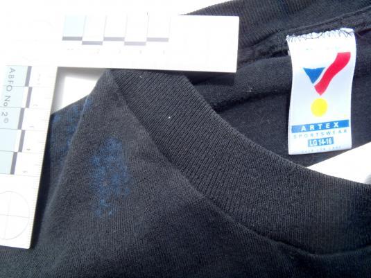 Vintage 1990s Black Orlando Magic Basketball Cotton T Shirt S