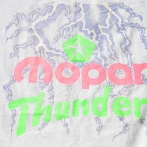 Vintage 1980s/90s Mopar Thunder T-Shirt XL