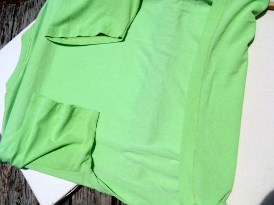 Vintage 1990s Orlando Thunder WLAF Football Green T-Shirt L