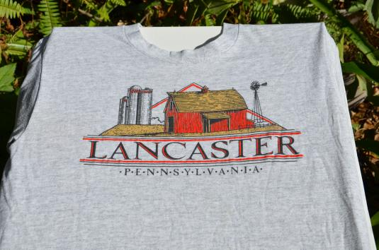 Vintage 1980s Lancaster Pennsylvania T-Shirt XL