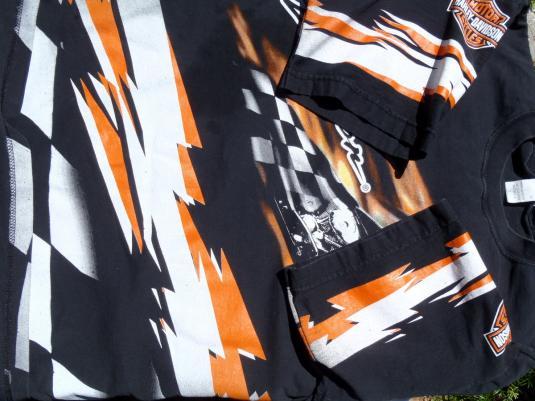 Vintage 2000s Black Harley Davidson Motorcycles T-Shirt L