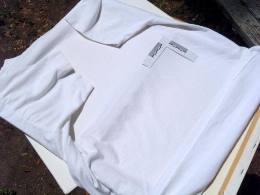 Vintage 1988 White Mr. Basketball Jim Benton T Shirt XL