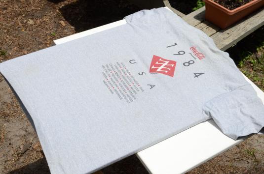 Vintage 1984 Duran Duran Concert Tour Gray T Shirt S/M