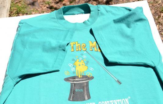 Vintage 1997 Square Dance Convention Teal T Shirt XXL