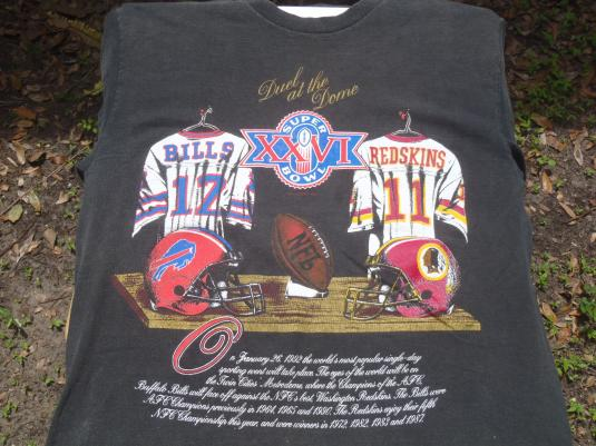 Vintage 1992 Buffalo Bills Superbowl T-Shirt XL