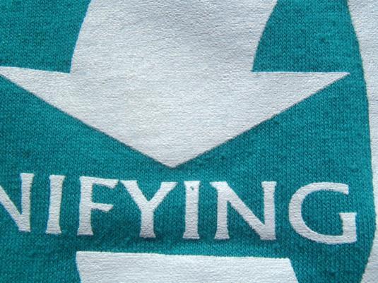 Vintage 1980s Florida Counseling Association Teal T Shirt M/L