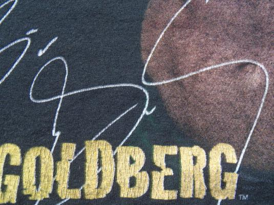Vintage 1996 WCW Goldberg Wrestling Black T Shirt XL