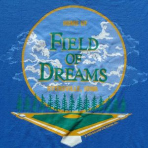 Vintage 1980s Field of Dreams Dyersville IA T Shirt XL